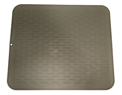 Xxl Premium Silicone Dish Drying Mat 22 X 18 Inch Easy