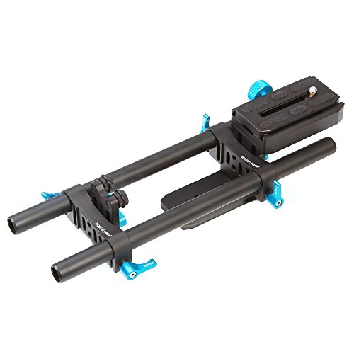FOTGA DP500 II DSLR Quick Release 15mm Rod Rail Support for Follow Focus Arca PU60 and Mattebox