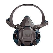 3M Rugged Comfort Half Facepiece 6502-Medium