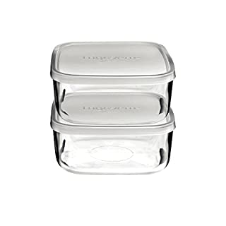 Bormioli Rocco Frigoverre Square Food Container with Frosted Lid (B00P7RDFLC) | Amazon price tracker / tracking, Amazon price history charts, Amazon price watches, Amazon price drop alerts
