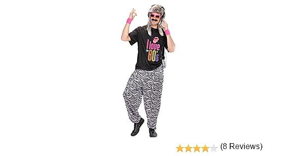 NET TOYS Pantalones de Deporte de Cebra años 80 chándal Jogging ...