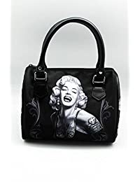 DGA Angels Day of The Dead Marilyn Monroe Smile Now/Bomshells Handbag/Purse