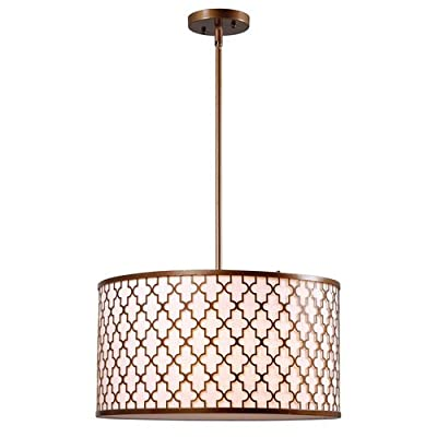 Kenroy Home 93373 Tripoli 3 Light Full Sized Pendant,