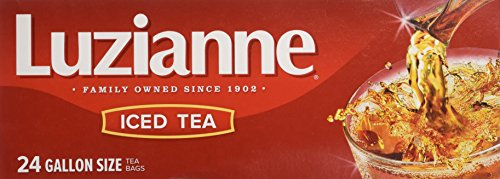 - Luzianne Specially Blended For Iced Tea 24 Gallon Size Tea Bags, 24 Oz.