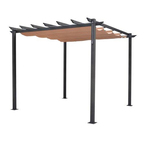 Bosmere Rowlinson Free Standing Aluminum Retractable
