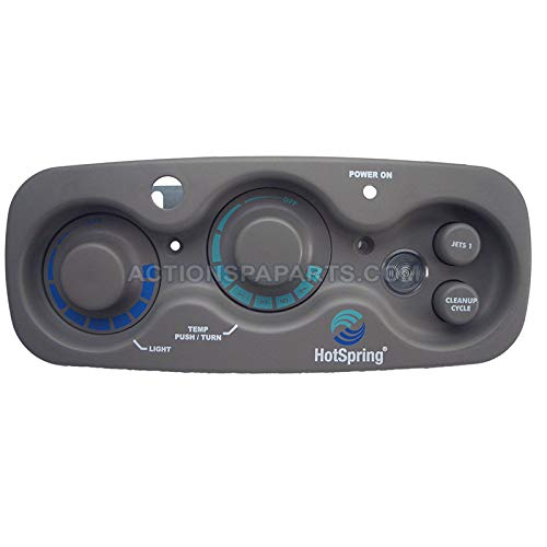 (Hot Springs 70671 Watkins Spa Top Side Control Panel,)