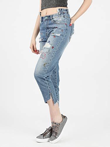 Mujer para Vaqueros WIYA WIYA Vaqueros Jeans q1OacxwS