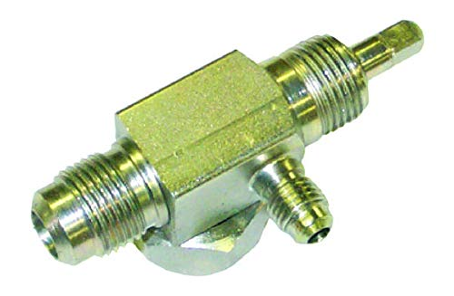 (R12 Roto Lock Backseat Valve With # 8 Male Flare Thread)