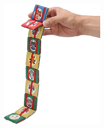 PROGLEAM Novelty, Jacobs Ladder Plastic Fidget Visual Stimulation Stress Sensory Toy for Kids Children Classic Gift