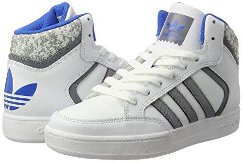 adidas Varial Mid, Creciente Unisex Adulto Blanco (Ftwr White/grey/bluebird)