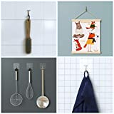 GLUIT Adhesive Hooks for Hanging Heavy Duty Wall