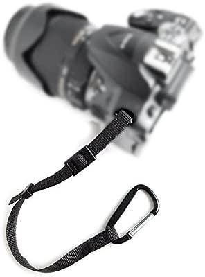 Cámara DSLR SLR Secure Strap (en alemán) Comercial mosquetón + ...
