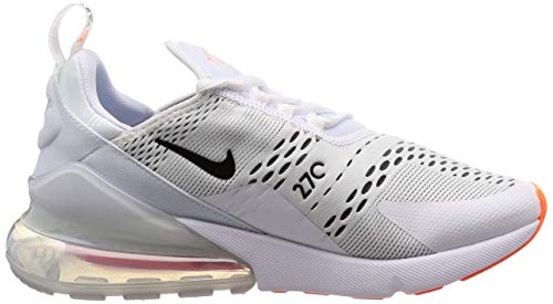 Max Uomo da Scarpe Total Fitness NIKE Orange White Multicolore 270 106 Air Black 5xYqwnSA