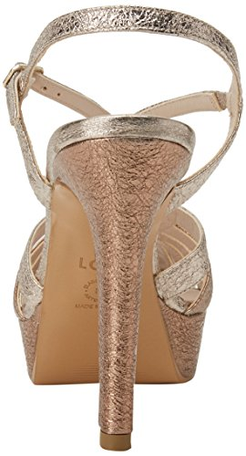 Nudo Nude plata Multicolore Donne Delle Sandali platino Tim alice Lodi w6xpqYz
