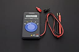 Digital Card Multimeter/With A Size Of Only 109 Mm X 55 Mm And 60 G In Weight, This Digital Multimeter Is Small Enough To Be Put In Pocket