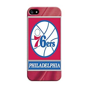 DIY Mysterious NBA Philadelphia 76ers Protective Hard Case for iPhone 6 (fit 4.7 inch)