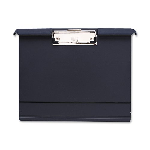 OfficemateOIC Klip N File Landscape Filing Clipboard, Charcoal (83040) ()