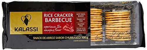 Snack Tai Kalassi Rice Crackers Barbecue Kalassi Sabor Outro
