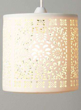 Bhs alida ceramic easy fit pendant light amazon kitchen home bhs alida ceramic easy fit pendant light mozeypictures Choice Image