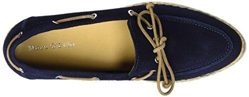 Marc OPolo Damen 70113993601300 Boat Shoe Bootsschuhe Blau (Dark Blue)
