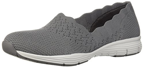 Skechers 49481 Gray Slipper Damen Skechers 49481 qOqwHpZ