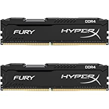 Kingston Technology HyperX Fury Black 32GB 2666MHz DDR4 CL16 DIMM Kit of 2 (HX426C16FBK2/32)