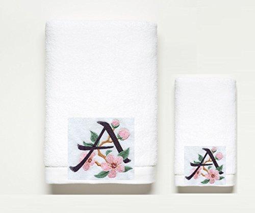 Pink Blossom ~ Towel Set ~ Brushstroke & (Brushstrokes China)
