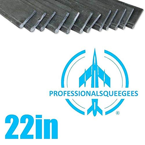 Rubber Professional Squeegees 22in (144pk) by ProTool (Image #1)