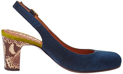 Jelly Tira Tobillo Mujer ante Bleu Testa Curry con de amazon para Zapatos Indigo Mihara Chie Ante 5wYqFxIqS
