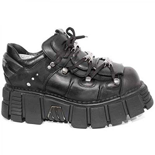 New Rock Boots M.120-c1 Hardrock Punk Gotico Unisex Stiefelette Schwarz