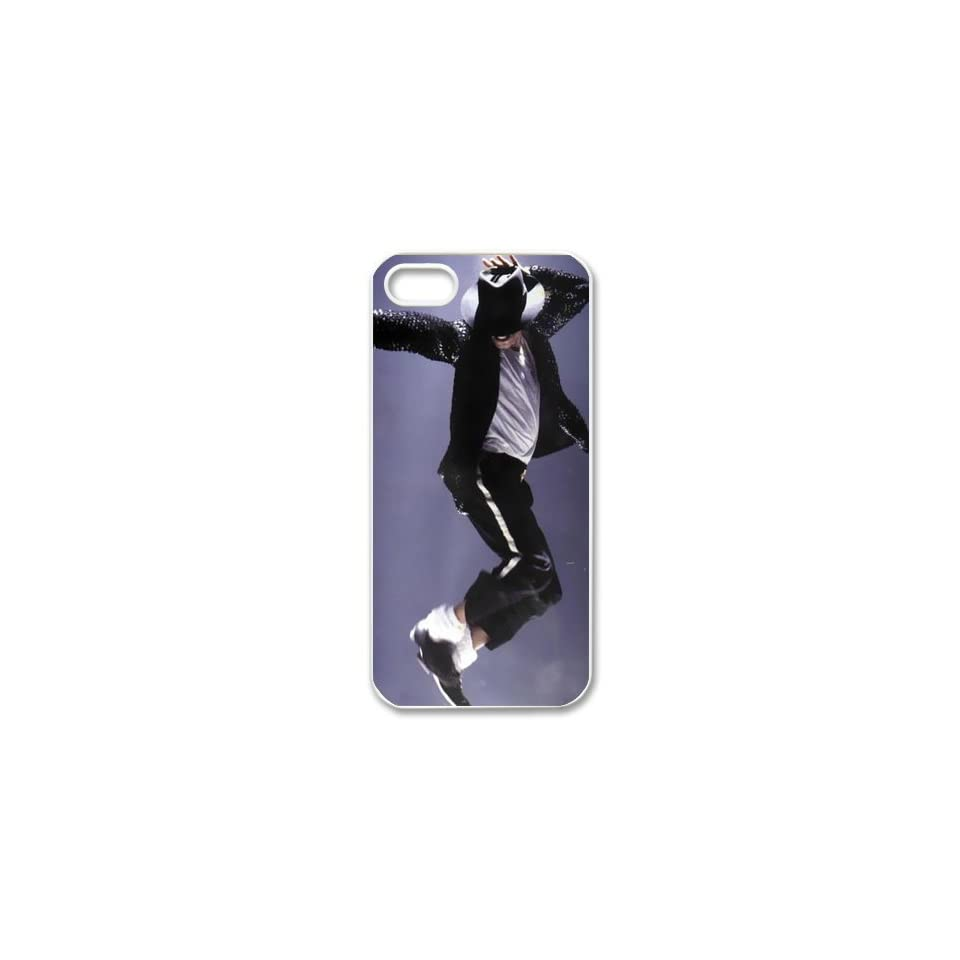 Custom Michael Jackson Cover Case for iPhone 5/5s WIP 3910 Cell Phones & Accessories