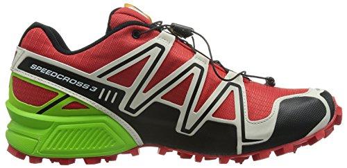 radiant Rosso Granny Gre Da Uomo 3 Salomon Scarpe Speedcross Red Light Grey Trail Running n18pax