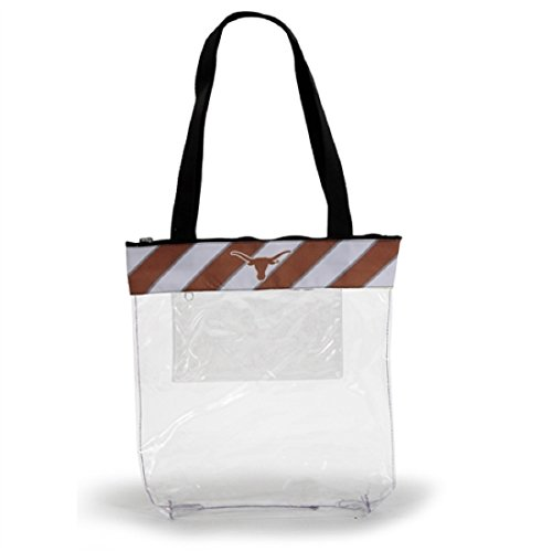 Desden Texas Longhorns Clear Gameday Stadium Tote Bag