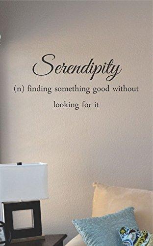 Serendipity Definition Vinyl Wall Art Decal Sticker Part 68