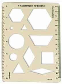 everyday math pattern block template - pattern block template package of 10 everyday math kit