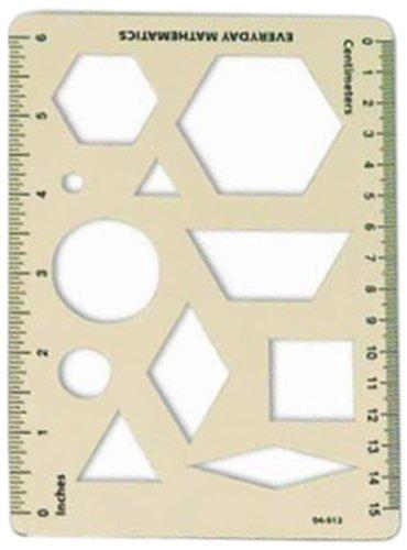 Everyday Mathematics: Pattern Block Template