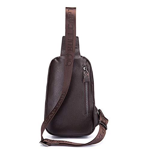 Casual Sac Hommes Bags En Handbags À Bandoulière amp; Brown Yqxr Pour Shoulder Cuir 8gU6PIwq