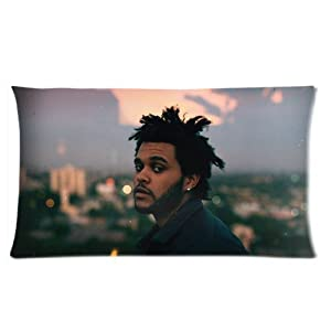 The Weeknd XO Custom Rectangle Pillow Cases 20x36 (one side)