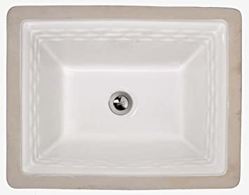 American Standard 0615 000 020 Rattan Vitreous China Undercounter Sink White