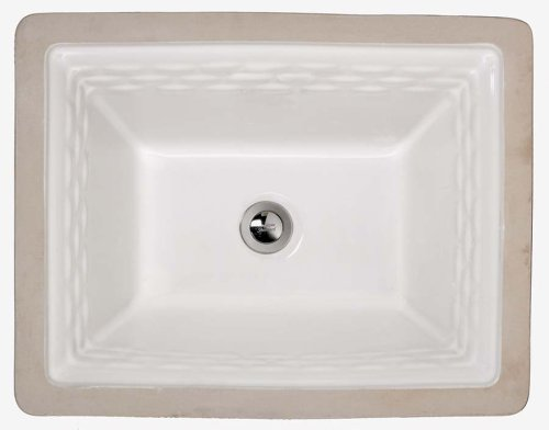 033056680322 - American Standard 0615.000.020 Rattan Vitreous China Undercounter Sink, White carousel main 0