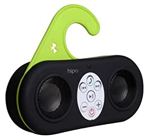 Ivation IVA-400 Waterproof Wireless Bluetooth Shower Speaker and Handsfree speakerphone for All Bluetooth Devices, BLACK