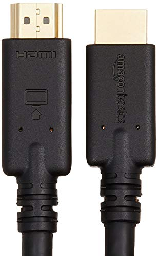 AmazonBasics High-Speed HDMI Cable, 35 Feet, 1-Pack
