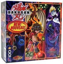 (Bakugan Battle Brawlers 100 Piece Puzzle - 'Dan and Masquerade' )