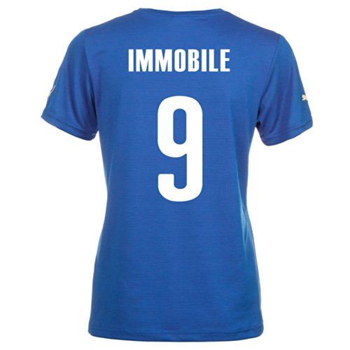 Puma IMMOBLE #9 Italy Home Jersey World Cup 2014 (Women) (L) by PUMA