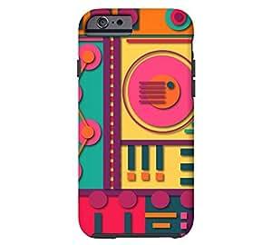 A11 iPhone 6 Apple Orange Tough Phone Case - Design By Humans