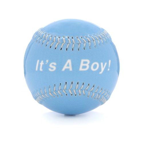 Bergino Echte Handarbeit Baseball IT 'S A BOY Modell 24 B005CQ241U Blle Verwendet in der Haltbarkeit