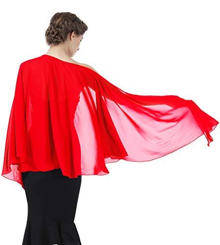 Shawls Wraps Scarf Chiffon For Women Bridal Wedding Evening Dresses
