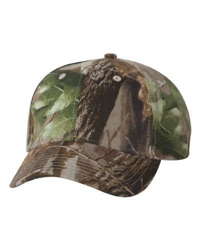 Ikat Kati LC15V Licensed Camo Cap with Velcro Realtree Hardwood Hd Green Adjustable
