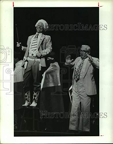 1990 Press Photo Scene from the play