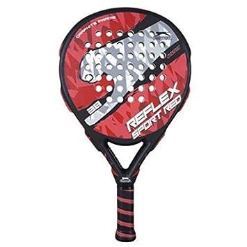 Slazenger Reflex Sport - Pala de pádel, color rojo, 38 mm: Amazon.es: Deportes y aire libre